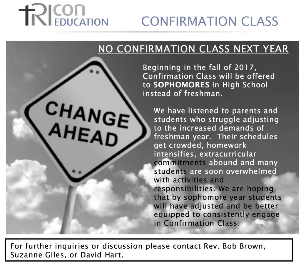 Confirmation Change 7 2016