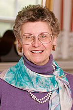 portrait of Karen Lord, Trinitarian Church staff personnel for website